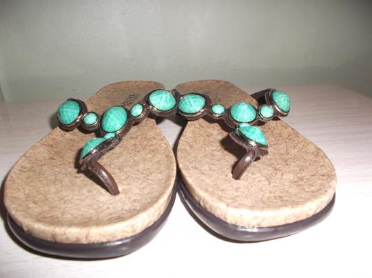 Kenneth Cole TURQUOISE Sandals Image 6