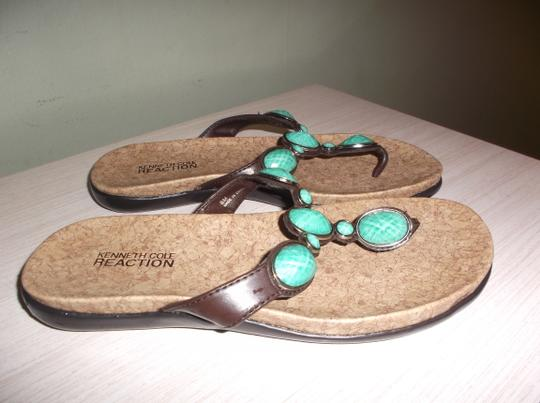 Kenneth Cole TURQUOISE Sandals Image 9