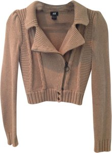 H&M Cropped Zippered Sweater