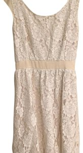 American Eagle Outfitters short dress Off-White/Cream on Tradesy