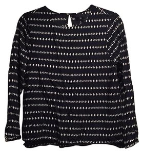Gap Top Navy print