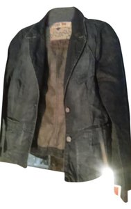 120% Lino dark blue Womens Jean Jacket