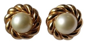 Other Ciner Vintage Earrings with Faux Pearl