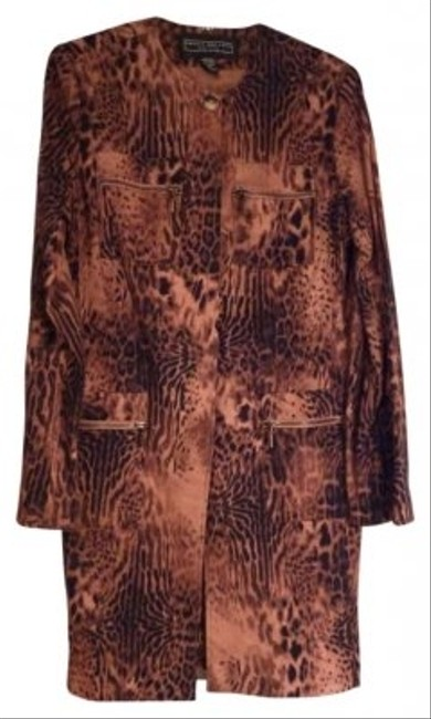 Preload https://item5.tradesy.com/images/harris-wallace-animal-print-long-jacket-night-out-top-size-10-m-157249-0-0.jpg?width=400&height=650