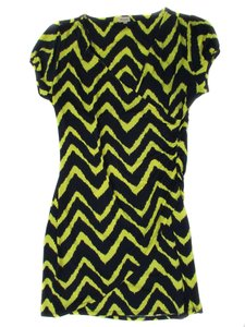 Daniel Cremieux short dress Yellow and Navy Laryssa on Tradesy