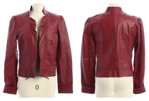 Spiegel Red Leather Jacket