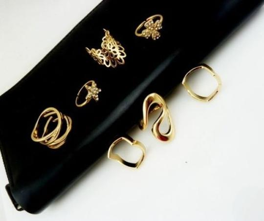 Other Women's Fashion Clover Leaf Star Joint Knuckle Nail Ring Set of 7 Rings Image 3
