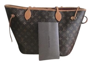 Louis Vuitton Tote in Brown/beige/Red