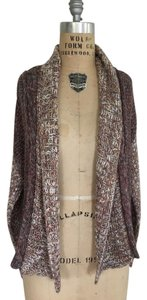 Anthropologie Sparkle No Closure Sweater
