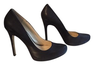 Enzo Angiolini Black Leather Pumps
