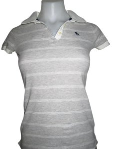 Abercrombie & Fitch Button Down Shirt Heather Grey