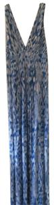 Blue / white print Maxi Dress by Tart