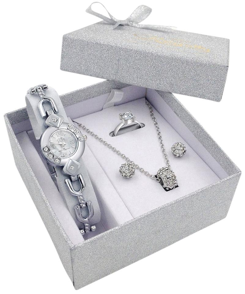 Other Silver Watch Jewelry Gift Set Women Girlfriend Ladies Female Wife Mum Sister Her Birthday