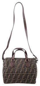 Fendi Monogram Ff Satchel in brown
