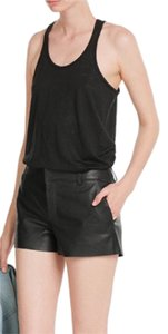 Rag & Bone Linen Light Weight Top Black