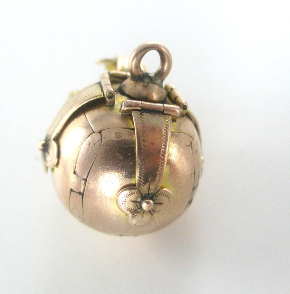 Gold vintage english 9kt yellow rose antique masonic cross orb gold vintage english 9kt yellow rose antique masonic cross orb pendant charm tradesy aloadofball Image collections