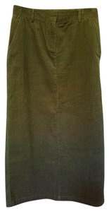 Christopher & Banks Maxi Skirt Olive green