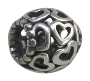 3a64be6fa PANDORA AUTHENTIC PANDORA CHARM #OPEN YOUR HEART #790964 new