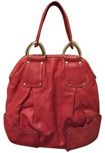 Kooba Lambskin Leather Shoulder Bag