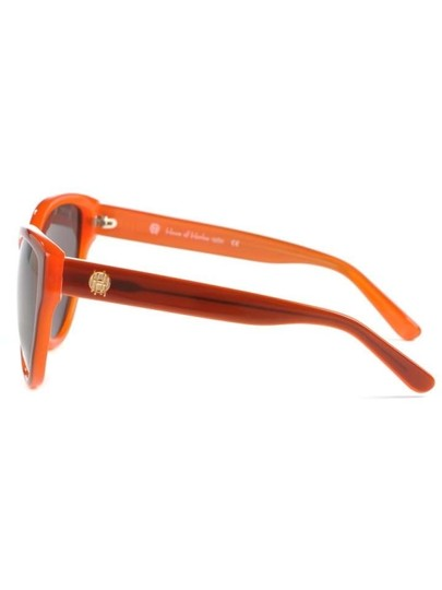 House of Harlow 1960 House of Harlow Chantal Sunglasses in Tangerine