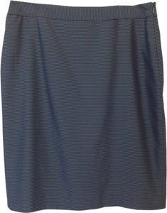 Nine West Skirt Navy Blue, Black