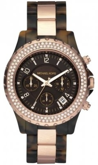 Preload https://img-static.tradesy.com/item/157283/michael-kors-faux-tortoiserose-gold-style-number-mk5416-watch-0-0-540-540.jpg