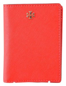 Tory Burch Tory Burch Robinson Leather Transit Pass Card Case