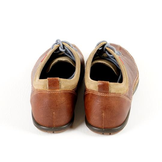 Ecco Comfortable All Leather Brown Athletic Image 6