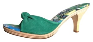 Banana Republic Summer Resort Sandal Green Sandals
