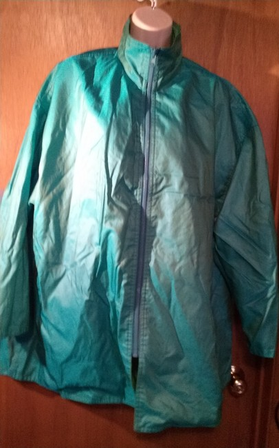 Mycra Pac Green and Blue Jacket