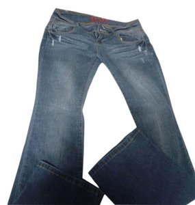 Bongo Flare Leg Jeans-Medium Wash
