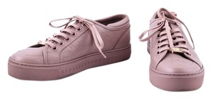 Louis Vuitton Embossed Leather Sneaker Nude Athletic