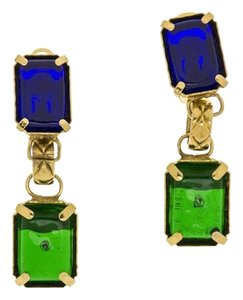 Chanel Chanel Vintage Multicolored Dangle Earrings