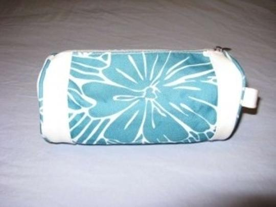 Other Tote in Teal/White