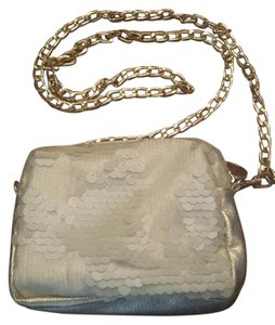 deux lux Sequin Gold Hardware Cross Body Bag