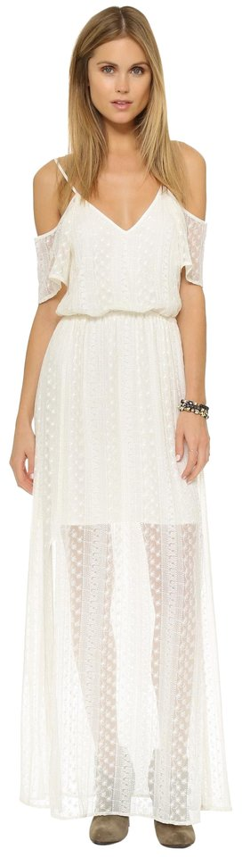 73811ae627bc white Maxi Dress by Ella Moss Lace Maxi Lace Maxi Off Shoulder Maxi Image 0  ...
