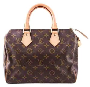 Louis Vuitton Speedy 25 Tote in brown