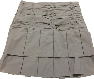Anthropologie Skirt Gray