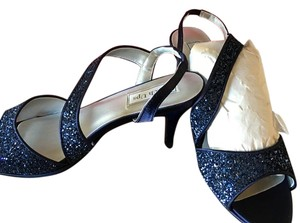 Touch Ups Navy Satin Formal