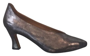 Earthies Silver Pumps