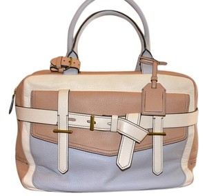 Reed Krakoff Couture Satchel in Neutral beige / Grey