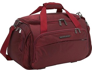 Briggs & Riley Red Travel Bag