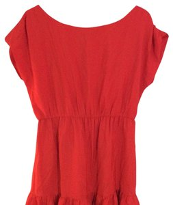 MM Couture short dress Red on Tradesy