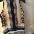 Clover Canyon Top Ivory-navy Image 2