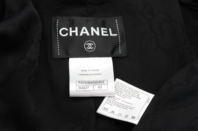 Chanel Women Women Long Cocktail Tie Military Jacket Image 2