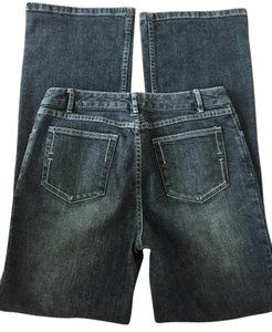 J. Jill Size 4 Denim Boot Cut Jeans-Medium Wash
