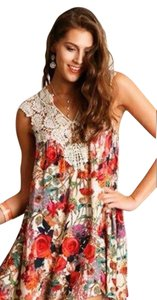Umgee short dress Floral on Tradesy