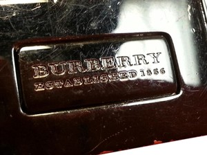 Burberry Burberry belt with black metalic hardware studs design