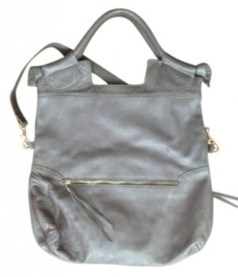 Preload https://item5.tradesy.com/images/foley-corinna-mid-city-tote-gray-leather-shoulder-bag-15734-0-0.jpg?width=440&height=440