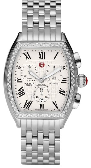 Preload https://img-static.tradesy.com/item/15734053/michele-stainless-steel-with-diamonds-watch-0-1-540-540.jpg